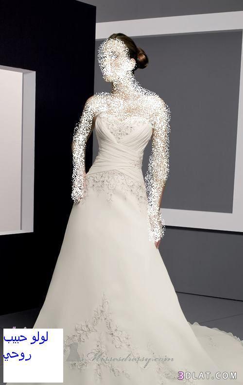 فساتين زفاف 2021   فساتين افراح فساتبن انيقة  من لولو