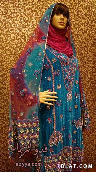 جلابيات عمانيه مطرزه - لبس عمانى مطرز - اللباس العمانى المطرز