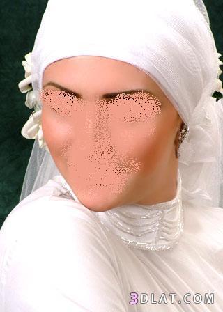 طرحات زفاف للمحجبات