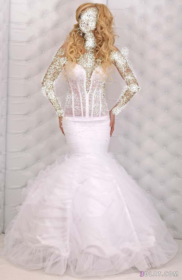 فساتين زفاف 2021  انيقة