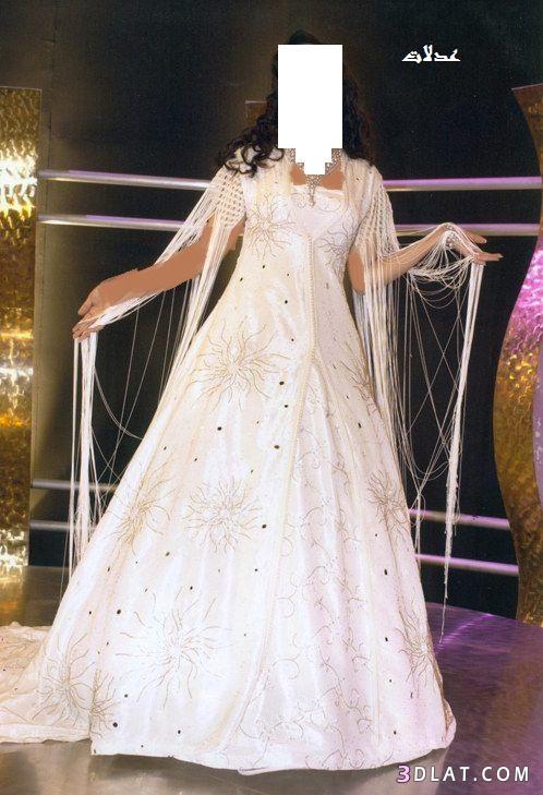 فساتين عروس مغربي لعرائس 2021 - فساتين زفاف للعروس المغربية