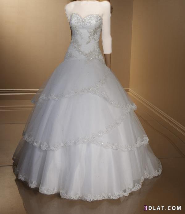 فساتين زفاف 2021  بسيطة