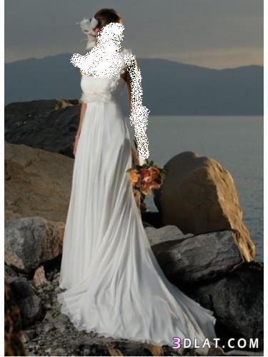 فساتين زفاف 2021  بسيطه جدا