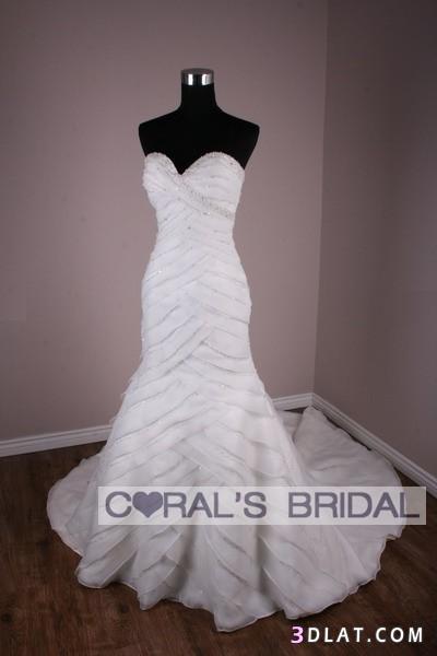 فساتين زفاف للعروس - فساتين افراح للعرائس
