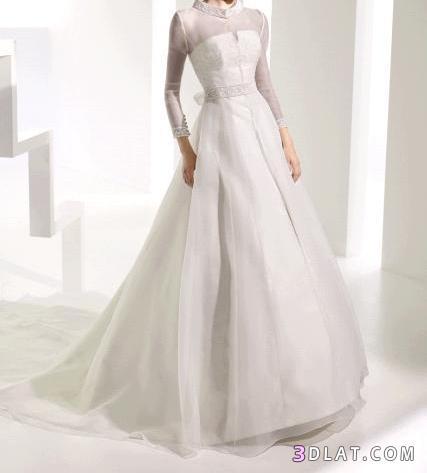 فساتين زفاف 2021  مميزه جدا