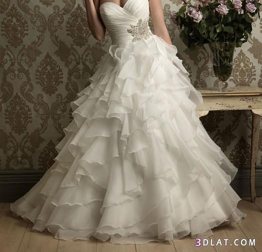 فساتين زفاف 2021  في قمة الروعة