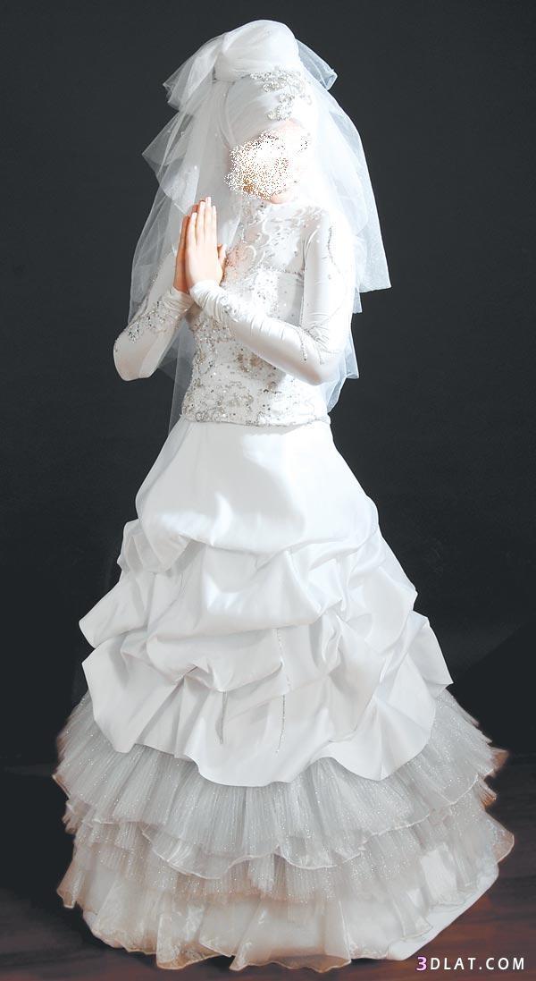فساتين زفاف 2021  للمحجابات