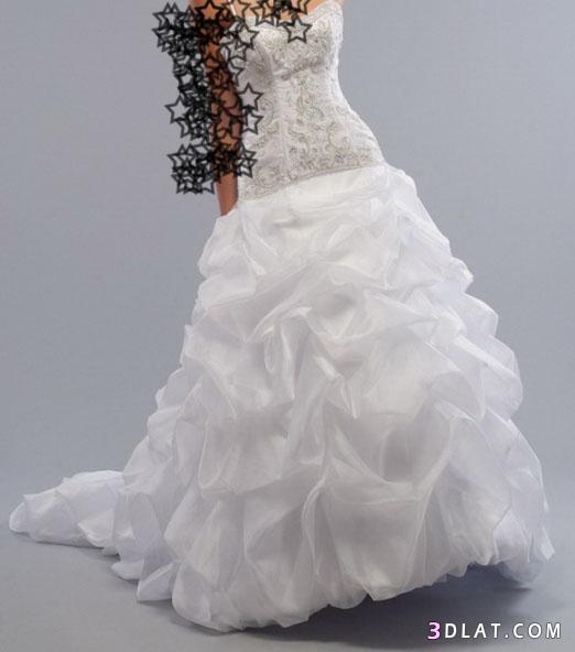 فساتين زفاف 2021  للعروس 2021 - فساتين عرس زفاف 2021  حلوة