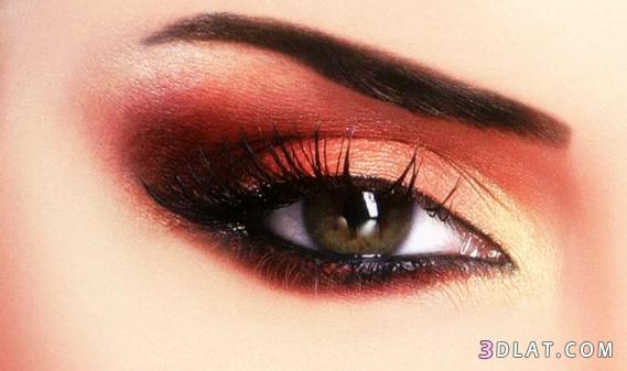 مكياج عيون-ميك اب عيون هادىء-مكياج عيون ناعم