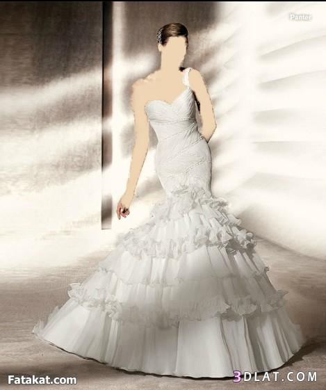 فساتين زفاف راقية و بسيطة