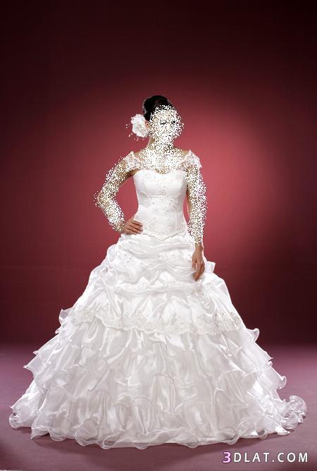 فساتين زفاف منوعة