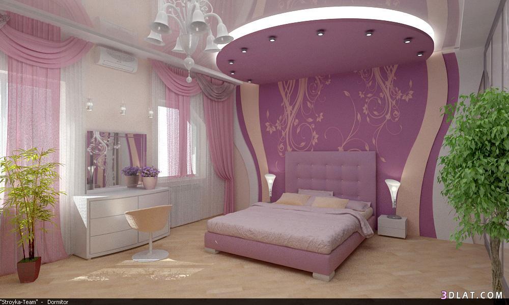 Потолок спальня своими руками