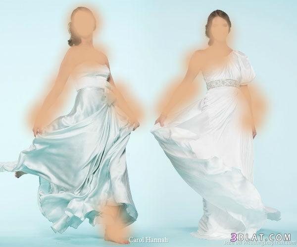 فساتين زفاف علي الطراز الاوروبي