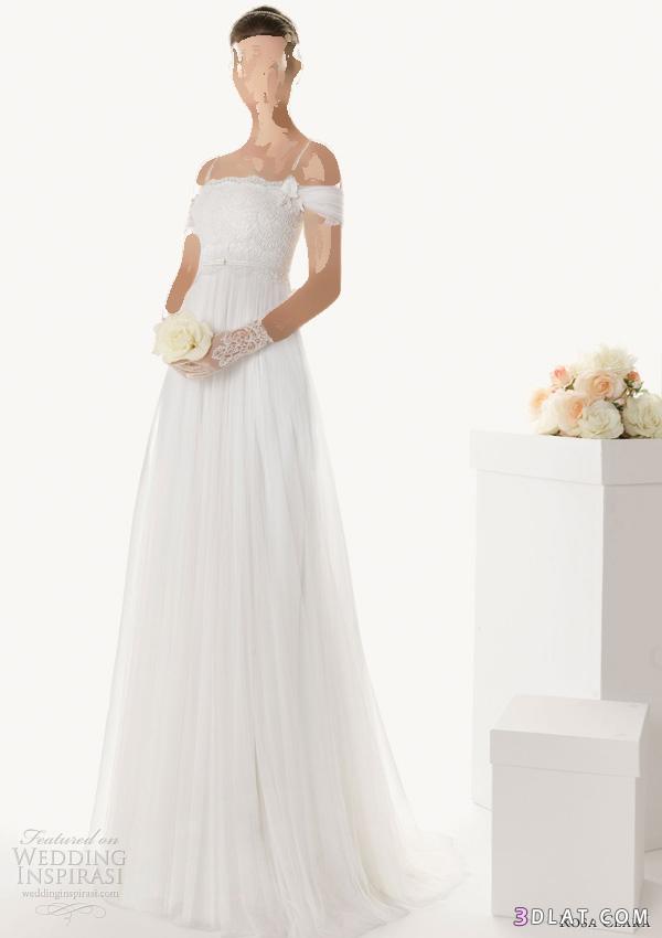فستان زفاف مفيش ارق منه