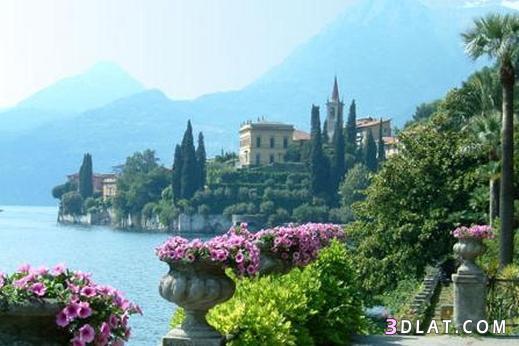 بحيرة كومو ايطاليا,