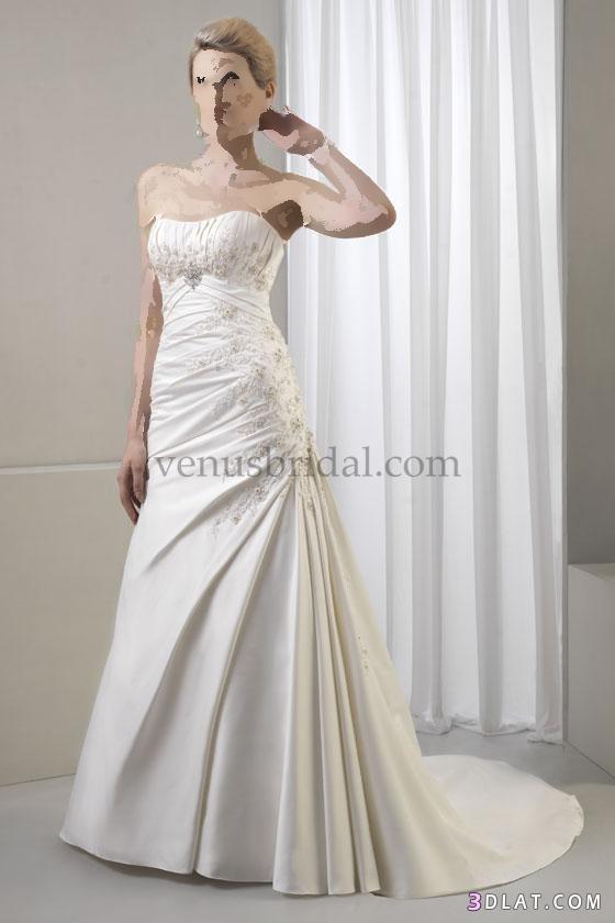 عروسة جميلة برقة فستانك
