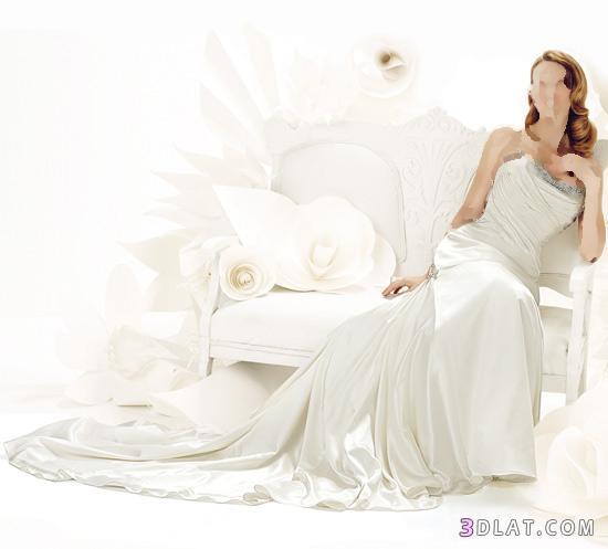 فساتين زفاف منتهي الرقة و الملائكية