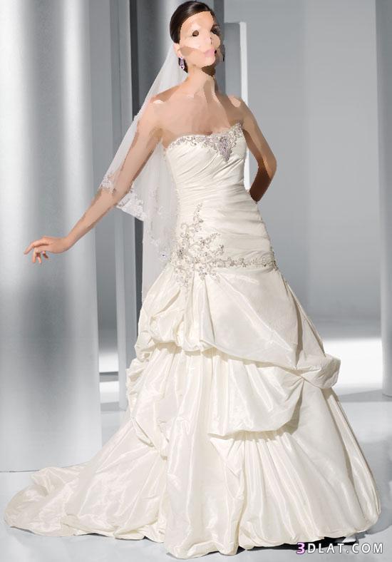 فساتين زفاف تجمع الرقة و الاناقة