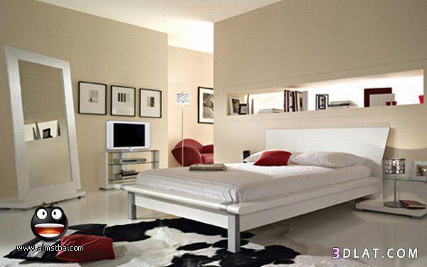 غرف نوم بسيطه ناعمه وعمليه.غرف نوم جميله   ريموووو