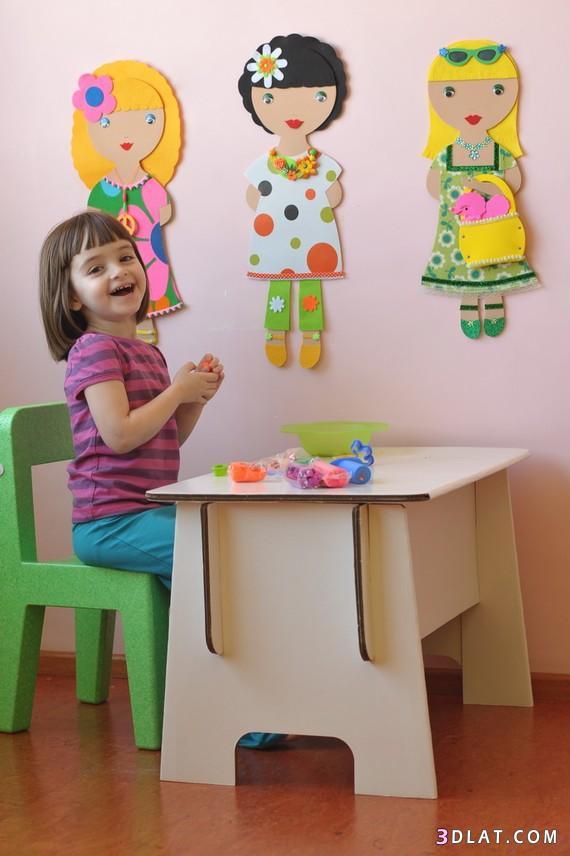 زينى غرفه ابنتك بنفسك بأجمل دمى الرسوم المتحركه