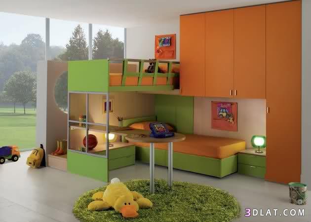 غرف نوم اطفال روعه صور غرف نوم اطفال   لافالانتينا