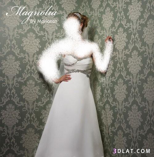 فساتين زفاف مانجوليا