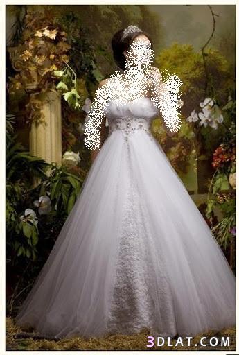 فستانى اجمل وهو منفوش