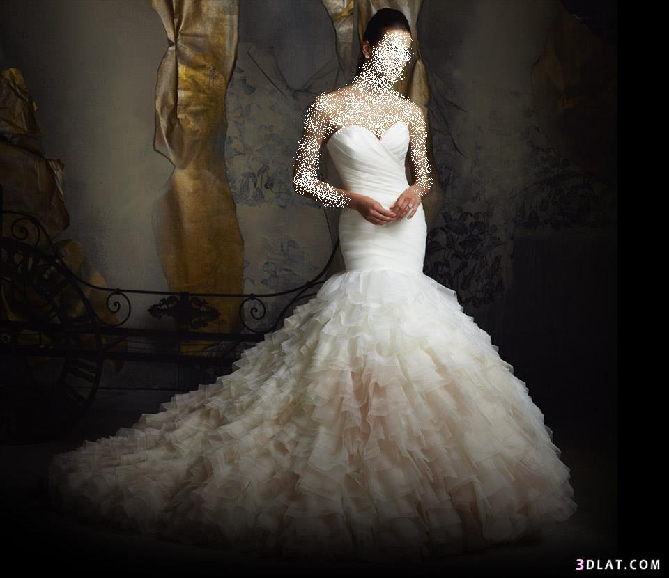 فساتين زفاف رقيقة جداً