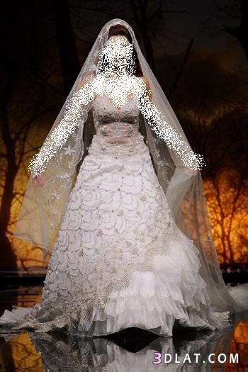 فساتين زفاف واووووووووووووو