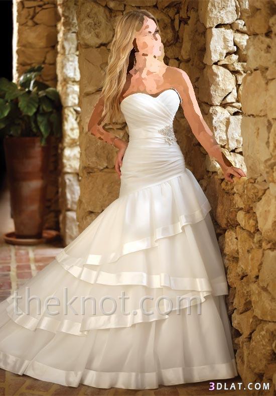 فساتين زفاف بتصميم مميز و راقي