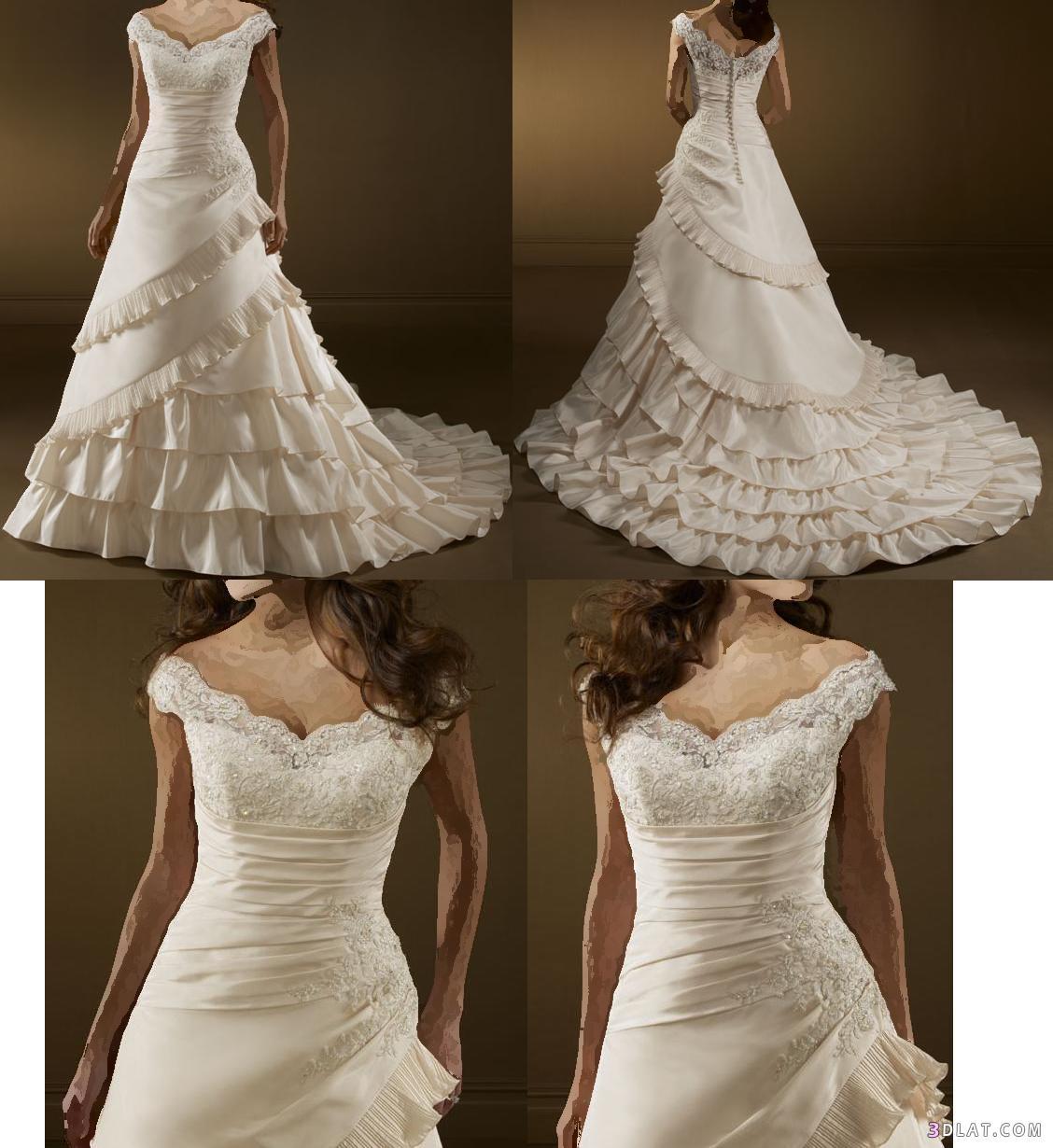 فساتين زفاف مميزة لارق عروس