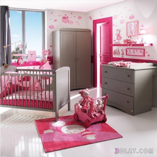 ديكورات غرف نوم أطفال صغيرة ، ديكورات لغرفة البيبى ، ديكورات غرف