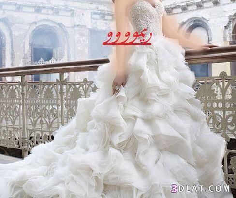فساتين زواج2019،فساتين زفاف جديده 2021،فساتين مميزه زفاف،فساتين منتهى الروعه للز