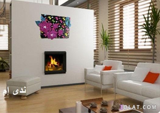 لتزيين غرفة المعيشة ، اصنعي لوحة يسيرة لغرفة معيشتك ، فكرة حلوة لتزيين