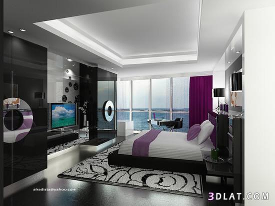 غرف نوم مودرن امريكى from upload.3dlat.com