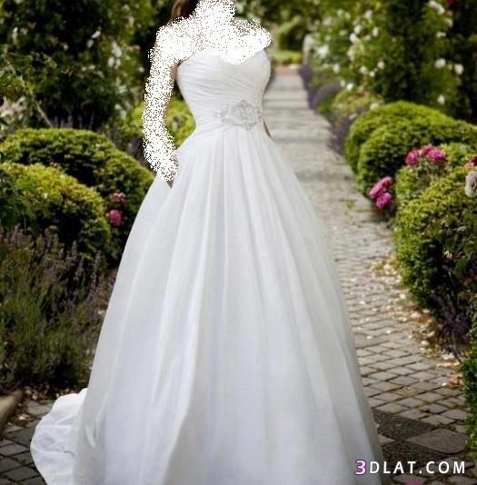 فساتين زفاف رقيقة ، فساتين أفراح بسيطة ، فساتين زفاف