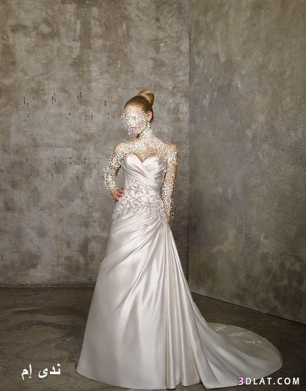 فساتين زفاف فرنسية ، فساتين زفاف أخر أنيقة ، فساتين زفاف بتصميم فرنسية