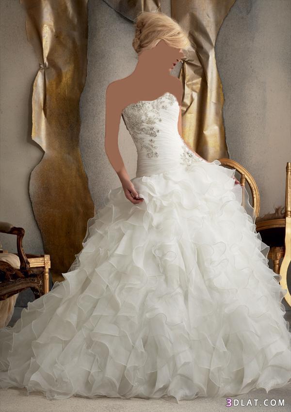 فساتين زفاف مميزة لعام 2021