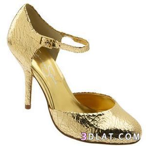 f9e5444a7f6d1 احذية ذهبية احذية انيقة 2020 احذية باللون الذهبي رائعة الجمال جديده ...
