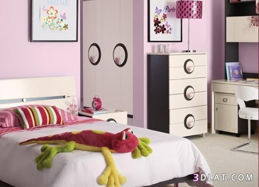 غرف نوم مودرن للأطفال ، ديكورات غرف نوم ولادى وبناتى ،غرف نوم