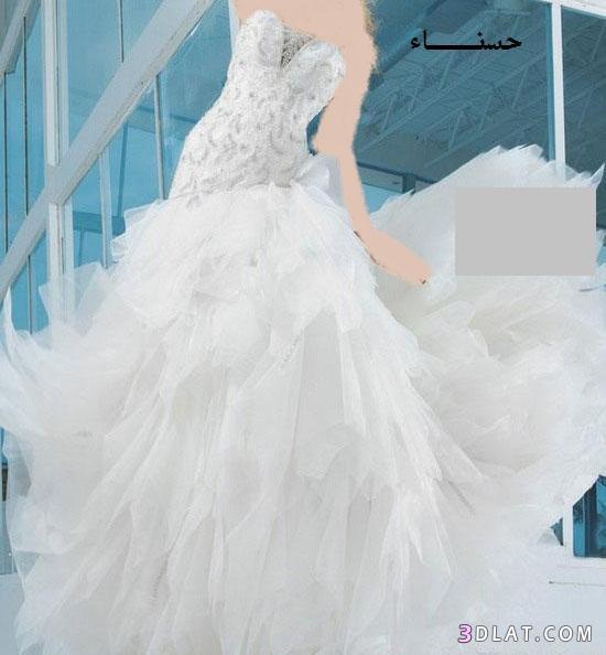 فساتين زفاف مميزة 2021،اجمل فساتين الزفاف للعرائس،فساتين فرح تجنن 2021