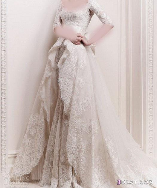 فساتين زفاف زهير مراد 2021،فساتين زهير مراد الجديده 2021،تصميمات زهير مراد فساتي