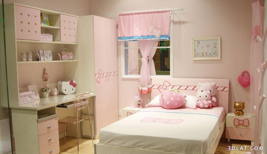 : غرف نوم بنات جميله جدا : غرف