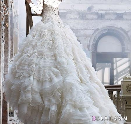فساتين زفاف موديلات 2021 فساتين زفاف رقيقه وناعمة فساتين زفاف متميزة وجديدة 2021