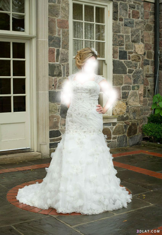 فساتن للعروس صاحبة الجسم الممتلئ،فساتين،تصاميم فساتين زفاف للاجسام الممتلئه