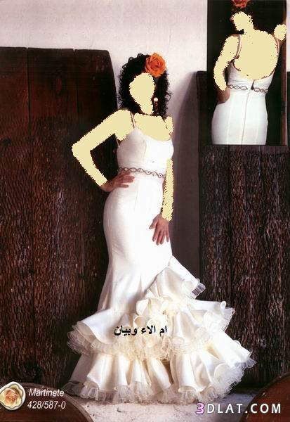 فساتين الفلامينكو الاسباني للعروس الغجرية,احلى فساتين العروس الاسبانية ل2019
