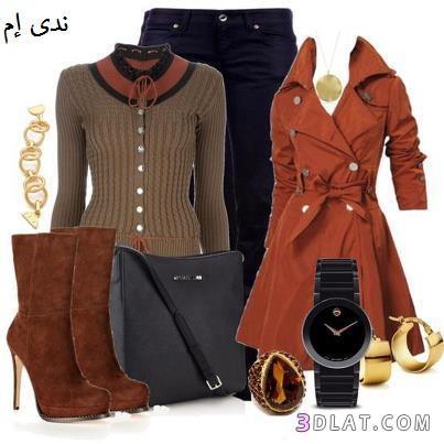 b74350d61 ملابس شتوى مميزة ، أزياء شتوى ، أناقة و ملابس شتوية - ندى ام