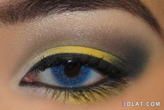 0a8b731b9efe1 ظلال عيون باللون الأصفر مكياج عيون روووعة بجازبية وجرائة الأصفر 2020 ...