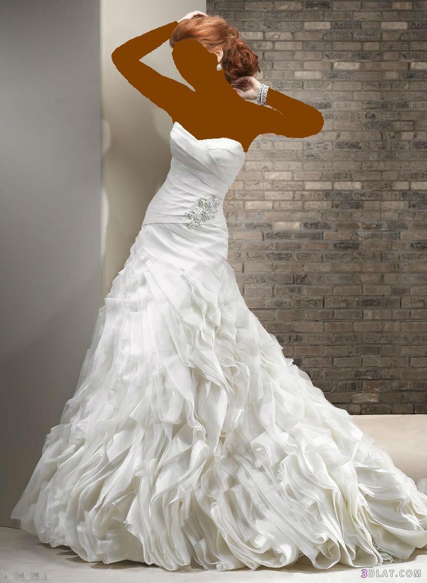 فساتين زفاف 2021 حصرى