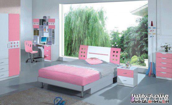غرف نوم شباب،غرف نوم اطفال،غرف نوم للبنات،غرف نوم مفرده 2018،غرف